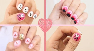 Valentine Nail Art - Nail Design Ideas for Valentine's Day