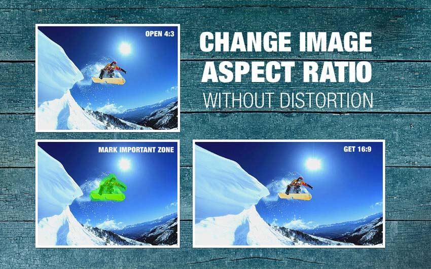 iresizer change aspect ratio