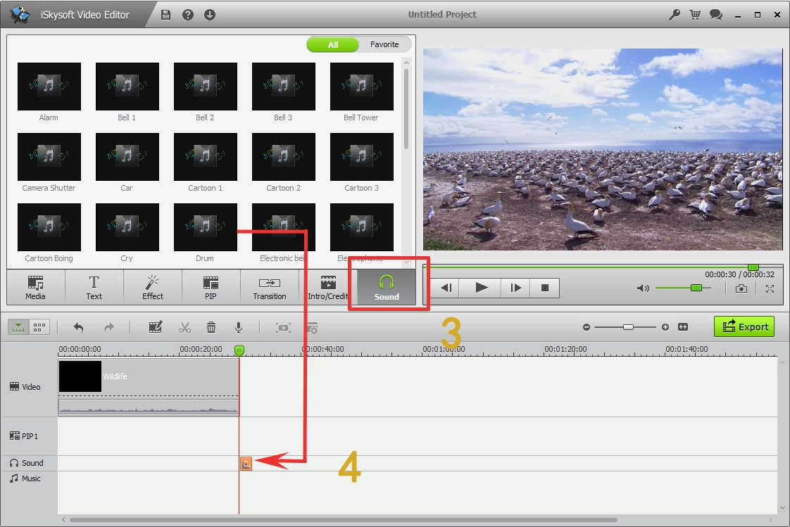 free video sound effects