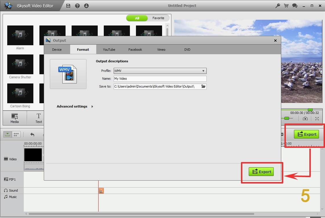 pop up video sound effect
