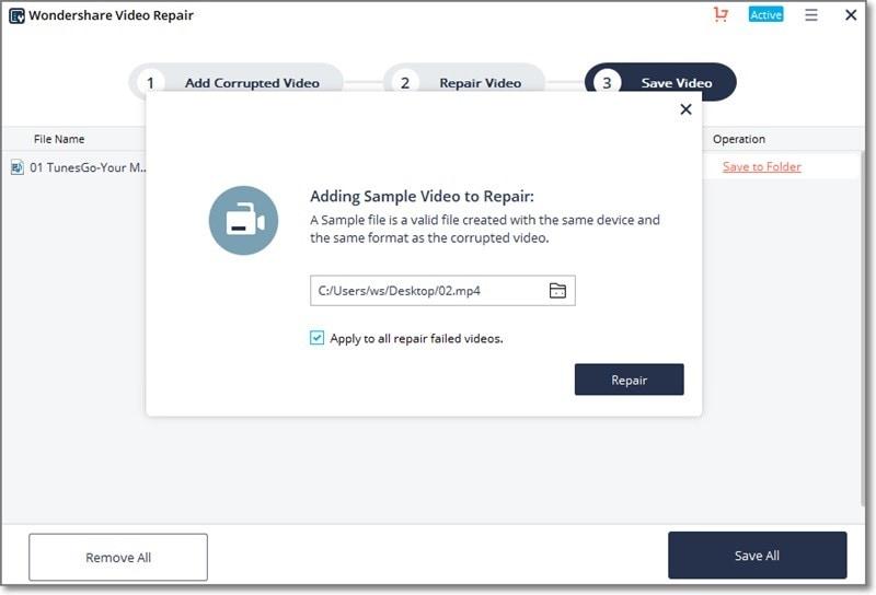 corrupt avi video file repair