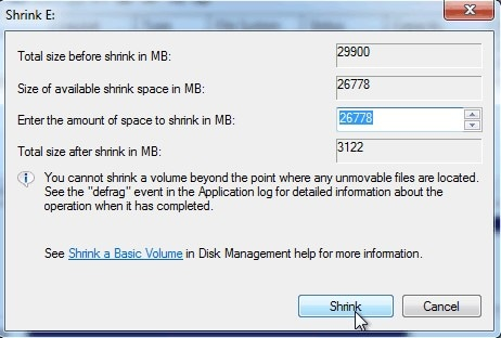 how to partition hard disk without formatting