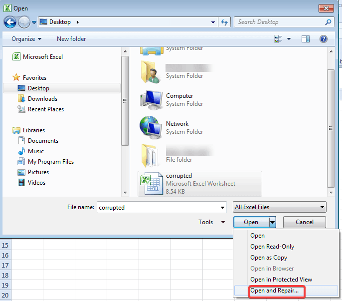 open-and-repair-excel