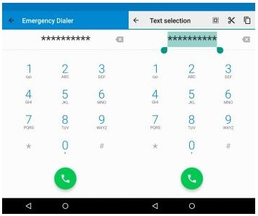 how to unlock android phone with emergency call