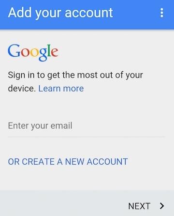 bypass google lock on samsung - step 4