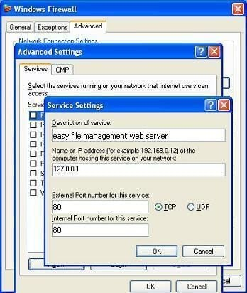 Check using local host
