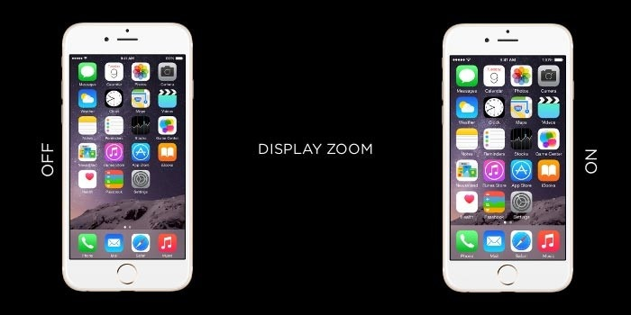 disable display zoom