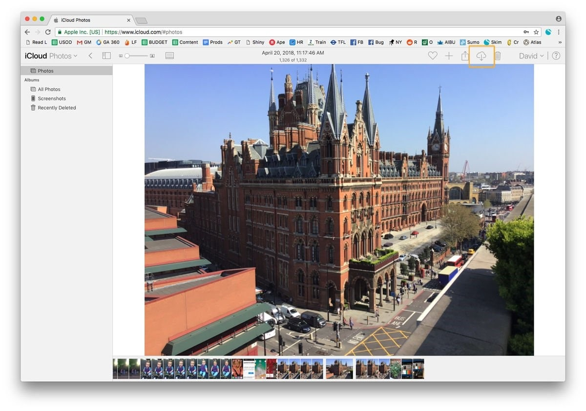 how to transfer photos from icloud to pc