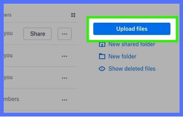 dropbox-upload-file-pc
