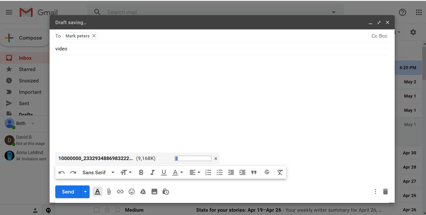 email-compose-message