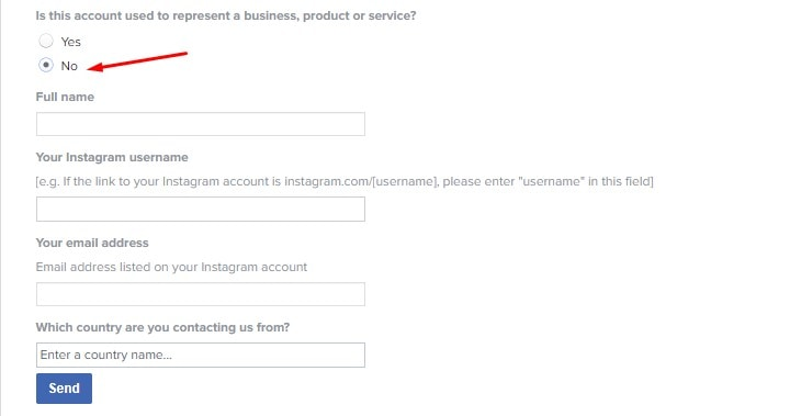 how to recover instagram account