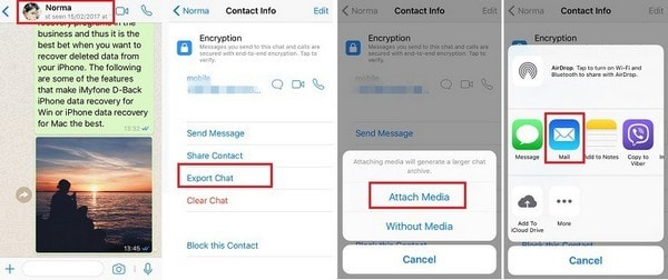 how to backup whatsapp contacts on android