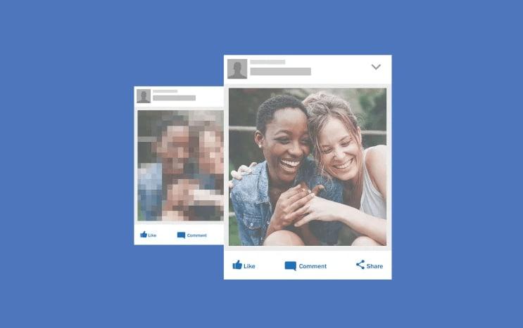 facebook videos blurry