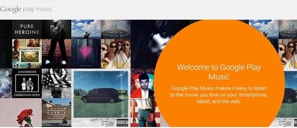 go to Google Music