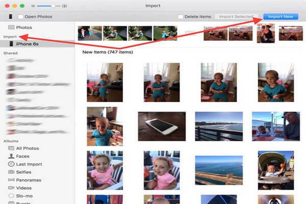 transfer photos from iphone to flash drive using iphoto