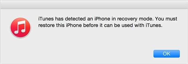 restore locked iphone in recovery mode