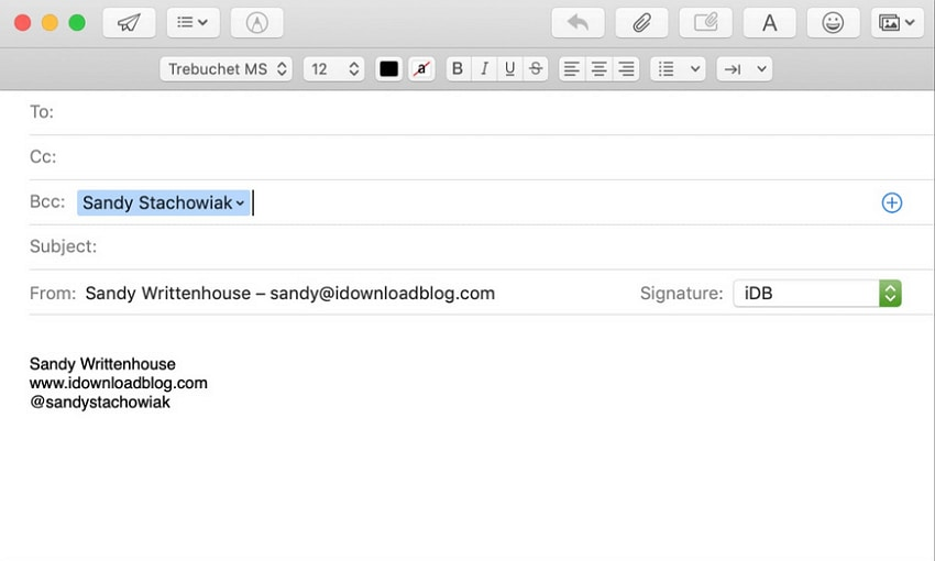 mac-email-compose-message