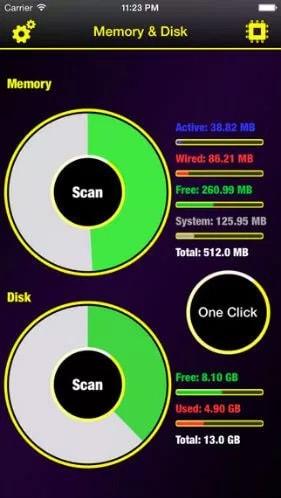 memory disk scanner pro