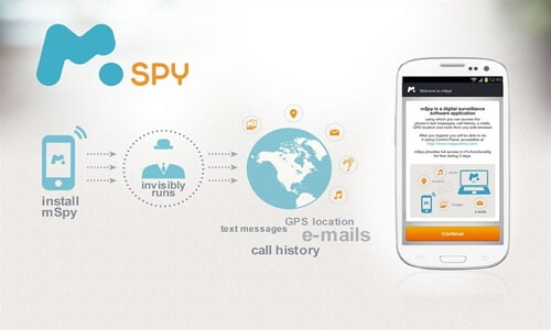 get into iphone using mspy