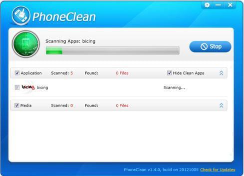 phoneclean cleaner