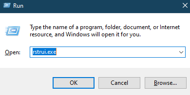 recover recently deleted files from recycle bin