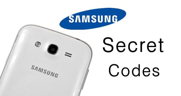 samsung secret code