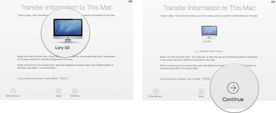 best way to transfer photos from mac to mac