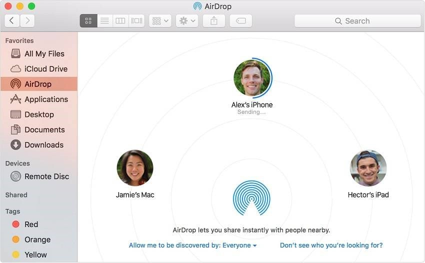 how to transfer photos from ipad to mac