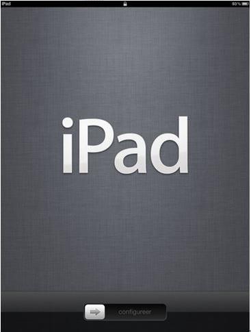turn on iPad