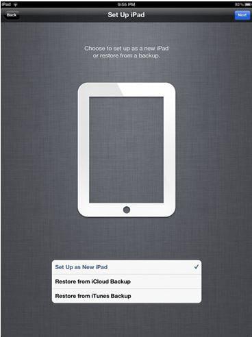 sync iPhone to iPad via iCloud
