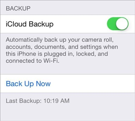 hrestore contacts from icloud