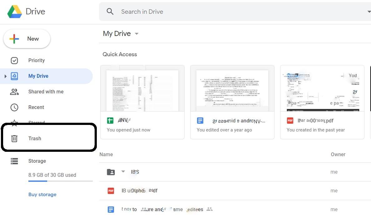 how to recover slides on google slides