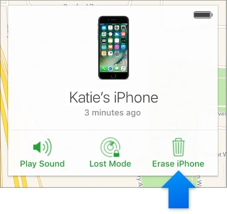 erase disabled ipad with find my iphone