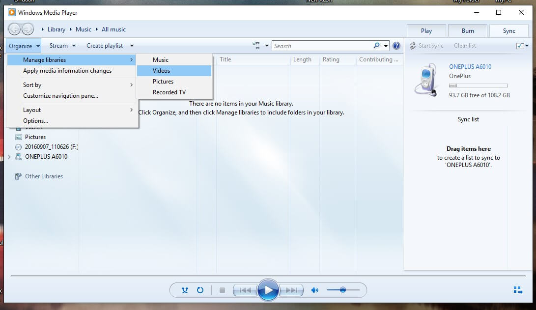 windows-media-player-manage-library