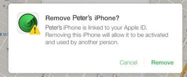 remove iphone