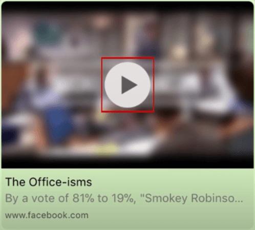 paste facebook videos to whatsapp