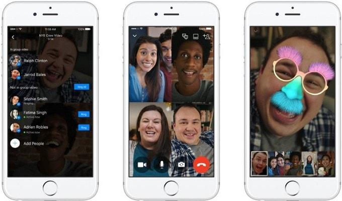 whatsapp video call filter