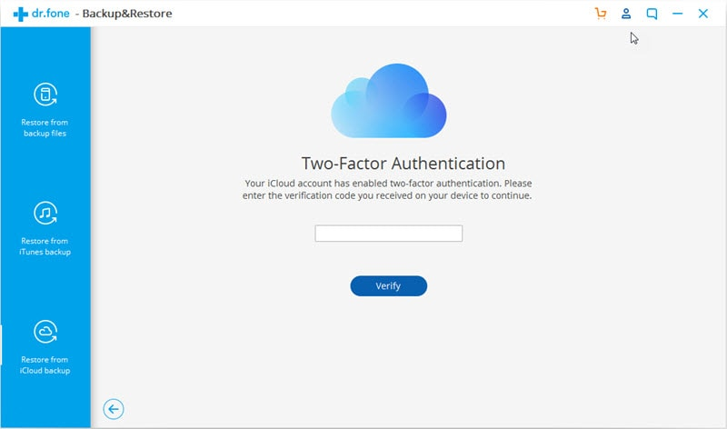 Transfer data from icloud to android