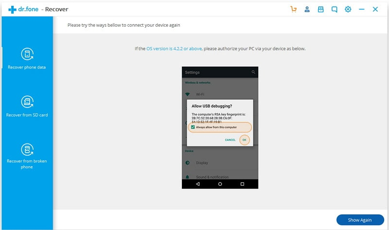 enable usb debugging on android phone