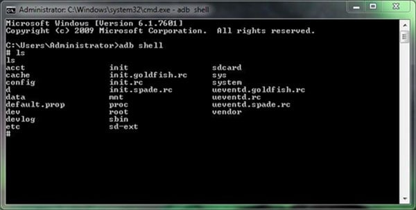 unlock android with adb command