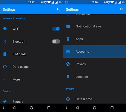 google cloud backup for android