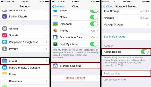 Backup your iPhone Contacts without iTunes