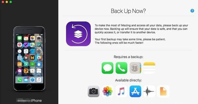 backup iphone files