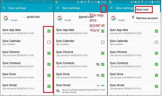 how to backup contacts to Gmail