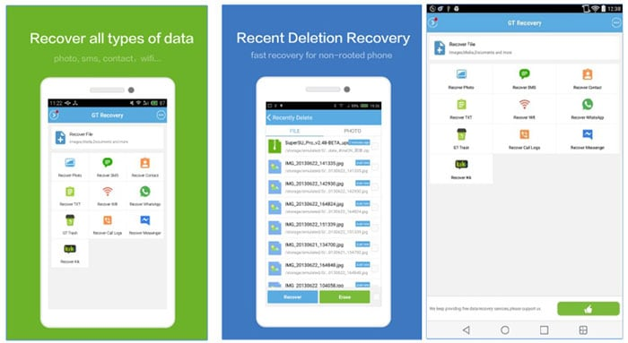 contacts recovery app for android