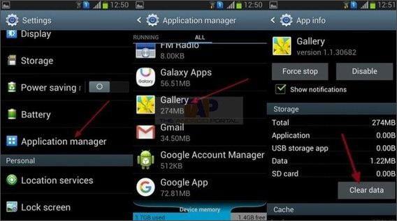 delete auto backup photos android