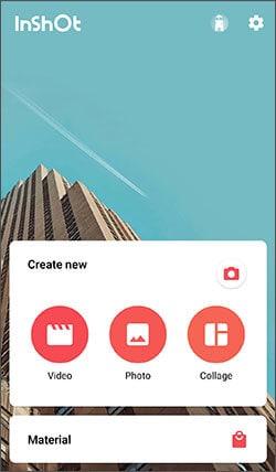 edit iphone video using inshot