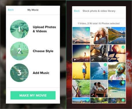 edit iphone video using magisto