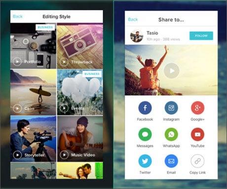 use magisto to edit videos on iphone