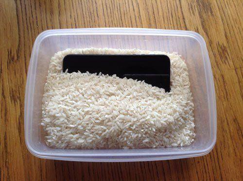 fast prvent water damage problem iphone
